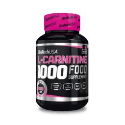 L Carnitine 1000mg BiotechUSA