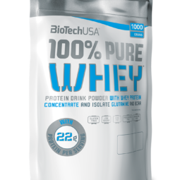100% PURE WHEY - 1KG BioTech USA