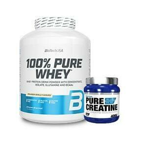 100% PURE WHEY +100% Creatine Monohydrate