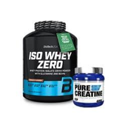 Proteinas ISO Whey Zero + Creatina