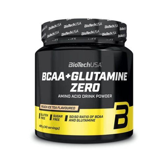 BCAA + Glutamine Zero de Biotech USA