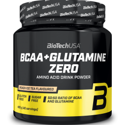 BioTechUSA BCAA + Glutamina Zero 480 gr