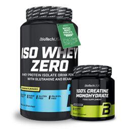 Biotech USA Iso Whey Zero 908g +300g creatina