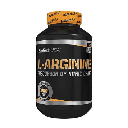 L-ARGININE 90 CAPS Biotech USA