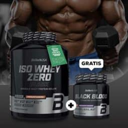 Iso Whey Zero Black + Black Blood